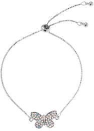 Bracciale con cristalli Swarovski®, bpc bonprix collection
