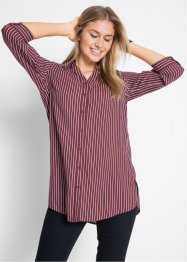 Camicia extra lunga in viscosa con manica a 3/4, bpc bonprix collection