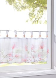 Tenda a vetro con fiori, bpc living bonprix collection
