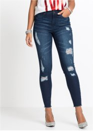 Jeans super skinny corto effetto push-up, RAINBOW