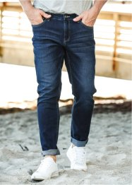 Jeans ultra elasticizzato regular fit tapered, John Baner JEANSWEAR