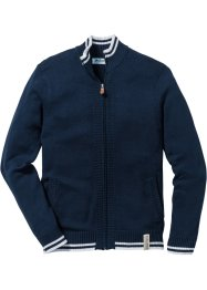Cardigan con colletto dritto, John Baner JEANSWEAR