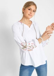 Maglia con manica lunga a palloncino Maite Kelly, bpc bonprix collection