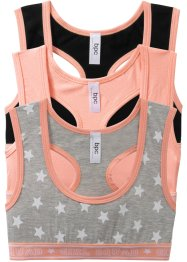 Reggiseno bustier (pacco da 3), bpc bonprix collection