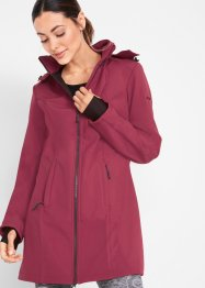 Giacca in softshell con pellicciotto di pile, bpc bonprix collection