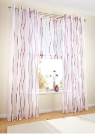 Tenda transparente in voile (pacco da 1), bpc living bonprix collection