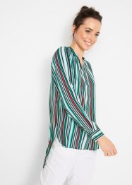 Camicia lunga a righe con spacchi, bpc bonprix collection