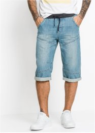 Bermuda lunghi in jeans loose fit, RAINBOW