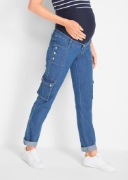 Jeans prémaman in stile cargo STRAIGHT, bpc bonprix collection