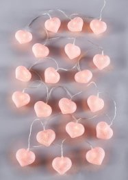 "Catena luminosa a LED ""Cotton Heart"", bpc living"