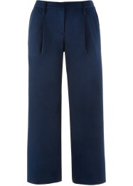 Pantaloni elasticizzati cropped con cinta semielastica loose fit, bpc bonprix collection