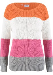 Pullover a fasce, bpc bonprix collection