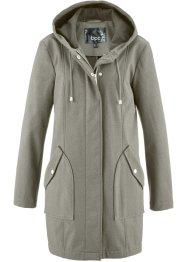 Parka in softshell con cappuccio, bpc bonprix collection