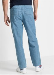 Pantaloni con elastico in vita classic fit straight, bpc bonprix collection