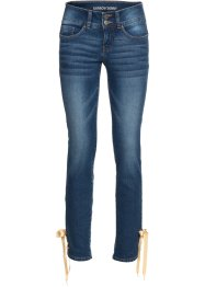 Jeans skinny corto effetto push-up, RAINBOW