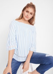 Blusa con scollo a barca e manica a 3/4 Maite Kelly, bpc bonprix collection