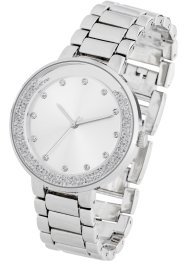 Orologio con strass, bpc bonprix collection