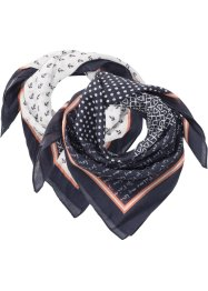 Foulard (set 2 pezzi), bpc bonprix collection
