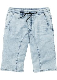 Bermuda di jeans in felpa regular fit, RAINBOW
