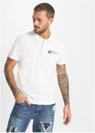Polo stampata slim fit, RAINBOW