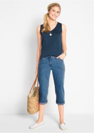 Jeans elasticizzato 7/8, bpc bonprix collection