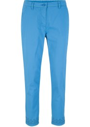 Pantalone 7/8 con ricamo traforato, bpc bonprix collection