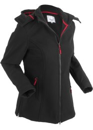 Giacca elasticizzata in softshell, bpc bonprix collection