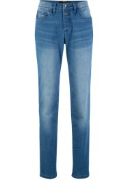 Jeans sostenibili in poliestere riciclato straight fit, bpc bonprix collection