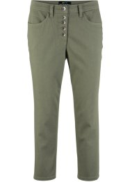 Pantalone 3/4 in poliestere riciclato sostenibile, bpc bonprix collection