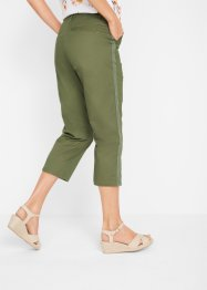 Pantaloni chino a pinocchietto con cinta regolabile, bpc bonprix collection