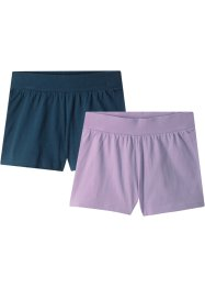 Shorts (pacco da 2) in cotone biologico, bpc bonprix collection