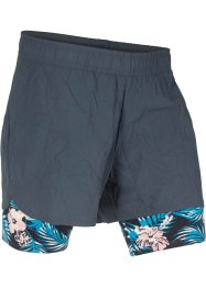 Pantaloncino funzionale per lo sport 2 in 1, bpc bonprix collection