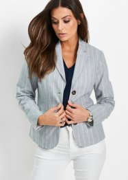 Blazer in misto lino, bpc selection premium