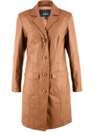 Cappotto in similpelle, bpc bonprix collection