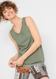 Top in cotone, bpc bonprix collection