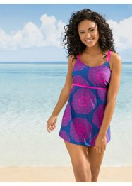 Tankini con top lungo, bpc bonprix collection