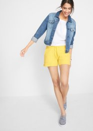 Shorts in felpa con coulisse, bpc bonprix collection