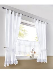 Tenda a vetro con pizzo, bpc living bonprix collection