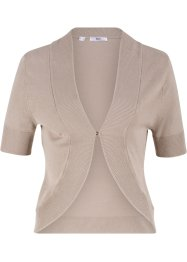 Bolero in maglia a maniche corte, bpc bonprix collection