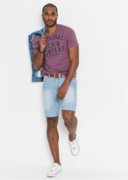 Bermuda di jeans in denim estivo regular fit, John Baner JEANSWEAR