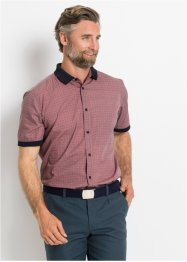Camicia a manica corta con colletto a costine, bpc selection