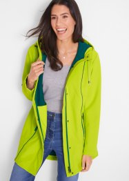 Parka in softshell con cuciture a contrasto, bpc bonprix collection