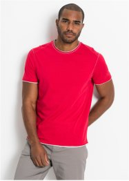 T-shirt con orli grezzi, bpc bonprix collection