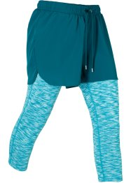 Leggings sportivi 2 in 1, bpc bonprix collection