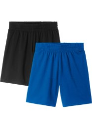 Shorts sportivi (pacco da 2), bpc bonprix collection