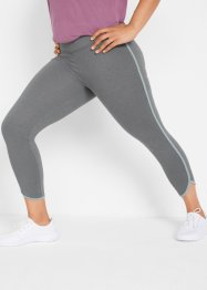 Leggings sportivi cropped livello 1, bpc bonprix collection