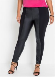 Leggings con similpelle, BODYFLIRT