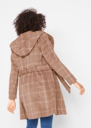Cappotto corto a quadri, bpc bonprix collection