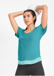 T-shirt per sport 2 in 1, bpc bonprix collection