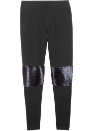 Leggings con paillettes reversibili, bpc bonprix collection